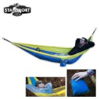 Newport 2-Person Traveler/Backpack Nylon Hammock Yellow/Blue