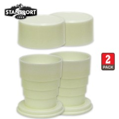 Plastic Collapsible Cup Set of Two