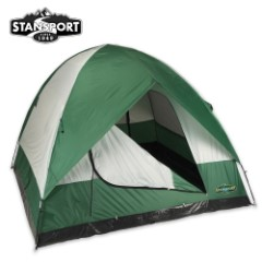 Ranier Three-Season Four-Person Two-Pole Dome Tent