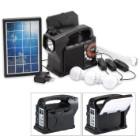 Solar Box 9-in-1 Solar Powered Emergency/Camping Kit