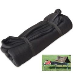 Texsport Black Fleece Sleeping Bag/Liner