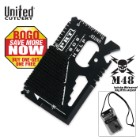 M48 Kommando Pocket Rescue Tool Wallet Card BOGO
