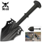 M48 Tactical Shovel Entrenchment Tool with Axe Blade And Sheath