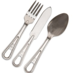 GI-Issue Utensils - Fork, Spoon and Knife