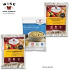 Wise Emergency Food Variety 3-Pack - Three Random 4-Serving Entrees, Mylar Pouches - Unbeatable Value - Disasters, Emergency Outdoors, Dorm, Bug-Out, Easy Meals, More - 25 Year Shelf Life - USA Made