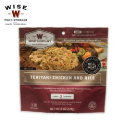 Wise 2-Serving Freeze Dried Meal Pouch - Random Selection