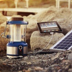 Wagan Tech Solar-Powered Classic LED Lantern