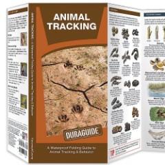 Animal Tracking Folding Waterproof Guide