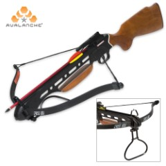 Avalanche Trailblazer Crossbow Wooden Stock 150-lb.