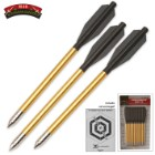 12-Pack Aluminum Crossbow Darts