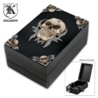 Fantasy Décor Skull Trinket Box