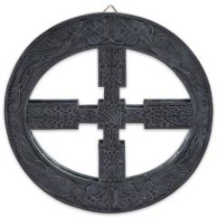 Celtic Wheel Mirror Wall Hanging