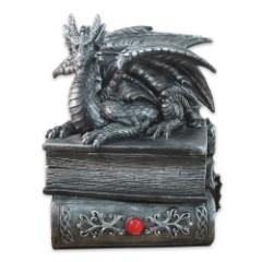 Guardian Of Bibliophiles Dragon Stash Box