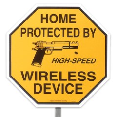 """Home Protected by High-Speed Wireless Device 