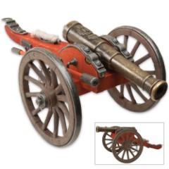 Replica Civil War Desktop Cannon