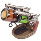 Double Gun Wine Bottle Holder