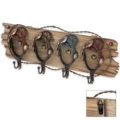 Boot Spur Hook Organizer - 4 Hooks