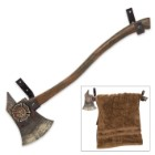Firefighter's Axe Towel Holder