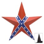 Confederate Flag Star Plaque