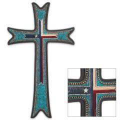 Texas Cross Plaque