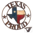 Texas Proud Plaque