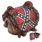 Confederate Flag Saddle Jewelry Box