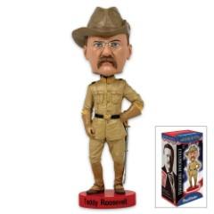 Teddy Roosevelt Bobble-Head
