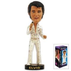 Eagle Suit Elvis Bobble-Head