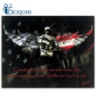 Greater Love Hath No Man Than This... - Wooden US Military Tribute Sign