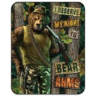 Right To Bear Arms Medium Weight Blanket