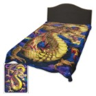 Aurora Dragon Medium Weight Blanket