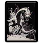Black Dragon Faux Fur Blanket – Queen Size