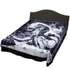 Black Dragon Queen Size Blanket