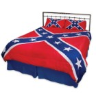 Rebel Flag Three-Piece Comforter Set