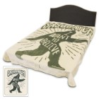Sasquatch Faux Fur Blanket – Queen Size
