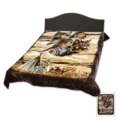 Native Queen Size Blanket