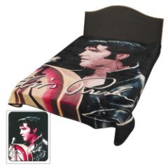 Elvis '68 Special Faux Fur Blanket – Queen Size