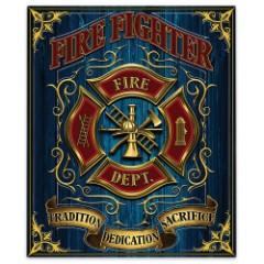 Firefighter Fleece Blanket – 50x60