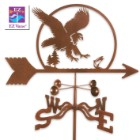 Weather Vane Eagle With Garden Stake