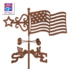 Weather Vane Flag With Garden Stake