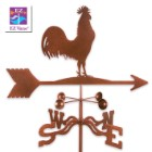 Weather Vane Rooster With Garden Stake