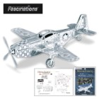 Fascinations Mustang P51 Plane – Metal Model Kit