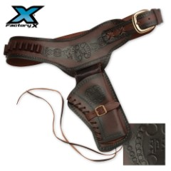 Single Right Draw Six-Gun Pistol Holster