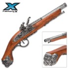 18th Century Flintlock Pistol Grey Replica