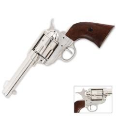 Replica Army Nickel Revolver