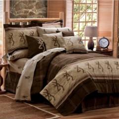 Browning Buckmark Comforter And Sham – Queen