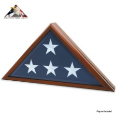 Traditional Burial Flag Case