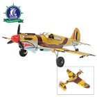 Handcrafted 1941 Curtiss Hawk 81A Model Airplane | Legendary WWII Fighter Plane | 1:36 Scale