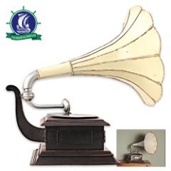 Replica 1911 HMV Gramophone Monarch Model V Horn - Edison Opera Phonograph Model - Full 1:1 Scale