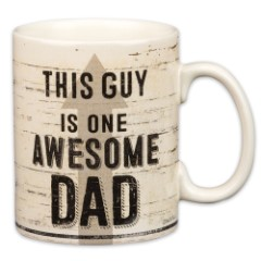 """This Guy is One Awesome Dad"" 20-oz Stoneware Mug"